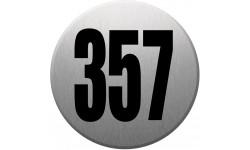 numéroderue357 gris brossé
