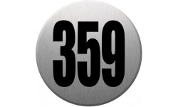 numéroderue359 gris brossé
