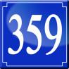 Sticker / autocollant : numéroderue359 classique - 10cm