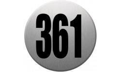 numéroderue361 gris brossé