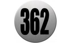 numéroderue362 gris brossé
