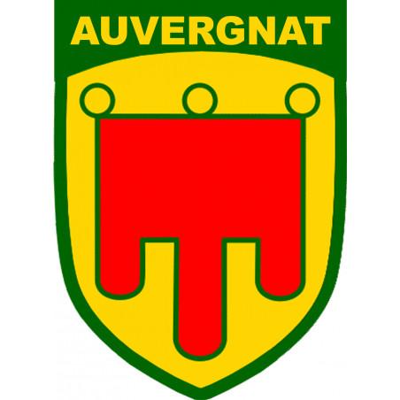 Sticker / autocollant : Auvergnat (20x14,5cm)