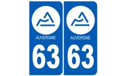 immatriculation 63 Auvergne