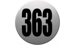 numéroderue363 gris brossé