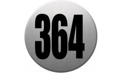 numéroderue364 gris brossé