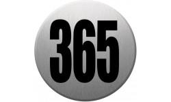 numéroderue365 gris brossé