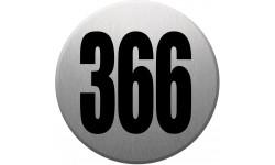 numéroderue366 gris brossé