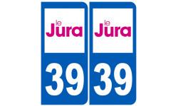 numero immatriculation 39 (Jura)