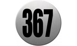 numéroderue367 gris brossé