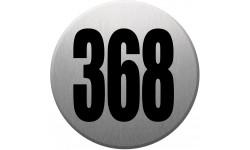 numéroderue368 gris brossé