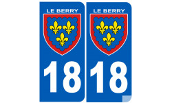 immatriculation Berry 18 (le Cher)