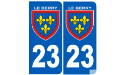 immatriculation Berry 23 (la Creuse)