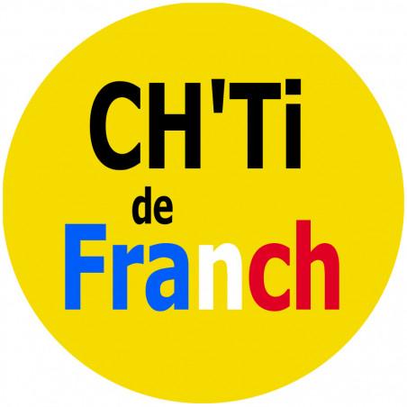 Sticker / Autocollant : Ch'ti et Chtimi - 5cm