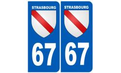 immatriculation ville de Strasbourg