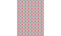Sticker / autocollant : série 88 produits Alsacien - 2cm