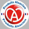 Sticker / autocollant : produits Alsacien - 15cm