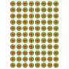 Sticker / autocollant : série Produits d'Auvergne - 88stickers de 2cm