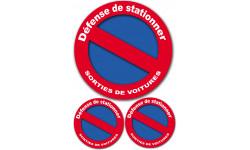 Défense de stationner