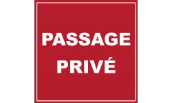 passage privé