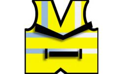 Autocollants : autocollants gilets jaunes