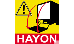 Signalétique Hayon