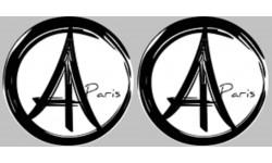 Sticker et autocollant de Paris
