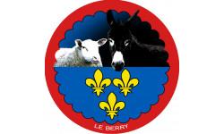 mouton Berrichon et L'âne grand noir du Berry