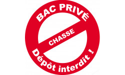 Bac prive equarrissage chasse
