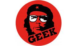Sticker / autocollant : geek Che Guevara - 20cm
