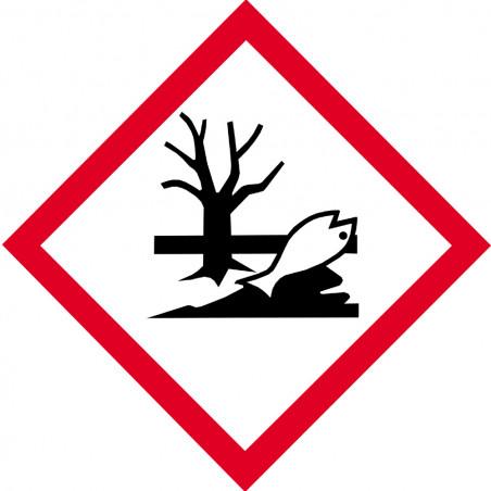 Sticker / autocollant : produits néfastes sur l'environnement - 15cm