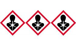 produits cancérogènes, mutagènes, toxiques