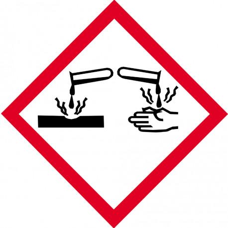 Stickers  / Autocollant série produits corrosifs 2