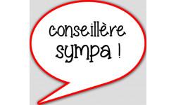 stickers / autocollant commercial sympa