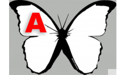 """stickers autocollants """"effet papillon A"""""""