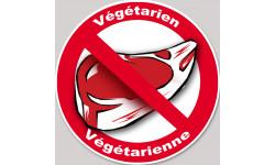 végétarien et végétarienne steack