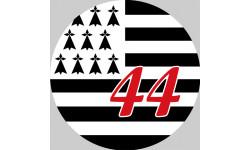Stickers / autocollant Bretagne 44