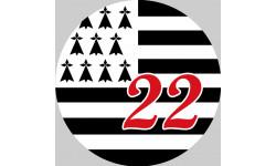 Stickers / autocollant Bretagne 22