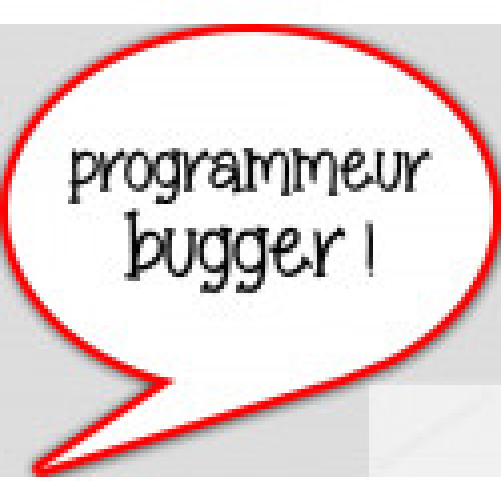 Autocollant programmeur bugger