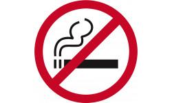 pictogramme interdit de fumer