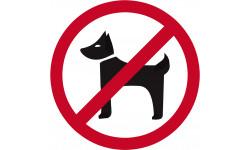 pictogramme Animaux interdits