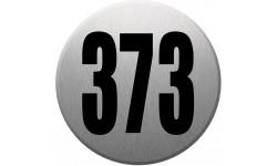 numéroderue373 gris brossé