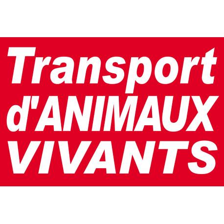 Sticker Transport d'animaux vivants