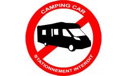 Stationnement interdit aux camping car
