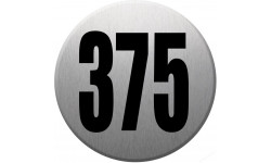 numéroderue375 gris brossé