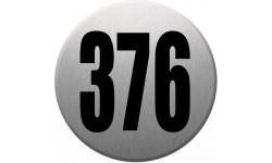 numéroderue376 gris brossé