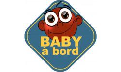 Stickers / autocollant Bébé à bord garçon