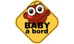 Stickers / autocollant Bébé à bord fille