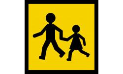 stickers / autocollant transport d'enfants