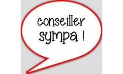 stickers / autocollant conseillère sympa