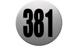 numéroderue381 gris brossé